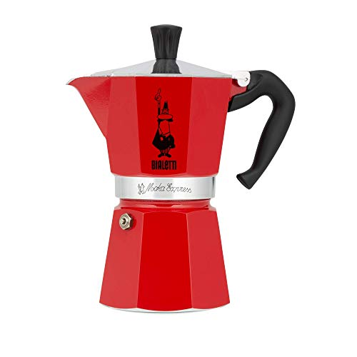 Cafeteira Bialetti Vermelha