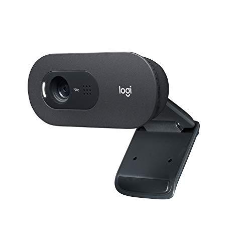 Webcam HD Logitech C505 com Microfone Embutido de Longo Alcance e 3 MP para Chamadas e Gravações em Vídeo Widescreen