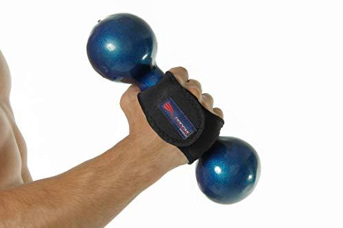 PROGNE SPORTS REF 3400 Luvas para Treinamento de Musculação e Fitness, U, Preta