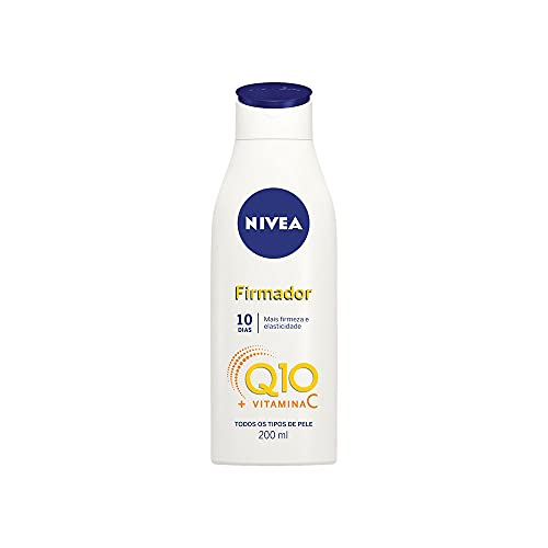 Nivea Firmador Hidratante Q10 + Vitamina C Todos Os Tipos De Pele, 200ml