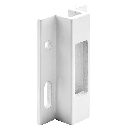 Prime-Line Produtos 152508 Porta-porta deslizante, alumínio extrudado branco, Viking