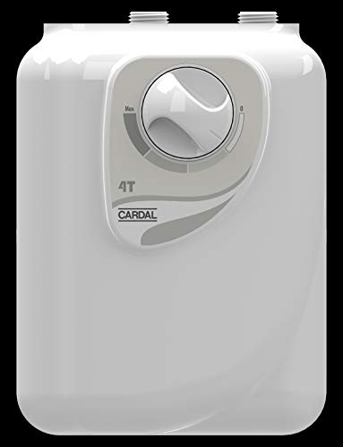 Aquecedor Individual 4 Temperaturas Cardal Branco Pequeno