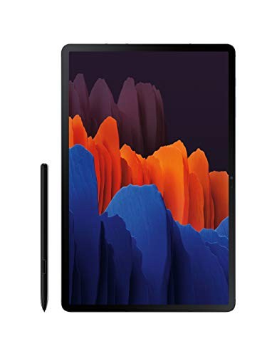Samsung Galaxy Tab S7+ Wi-Fi, preto místico, 128 GB