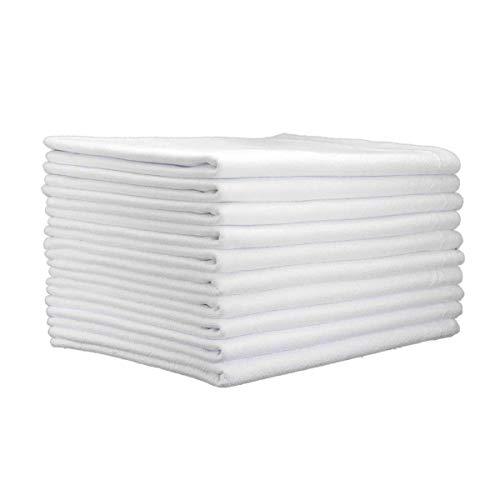 Pano De Prato Liso Branco O Legítimo Kit 10 Pronta Entrega