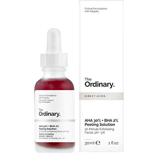 The Ordinary AHA 30% + BHA 2% Peeling Solution 30ml Tratamento