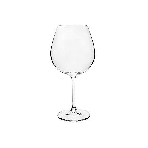 Jogo 6 Taças de Vinho Bordeaux Gastro 650ml Cristal Bohemia (6)