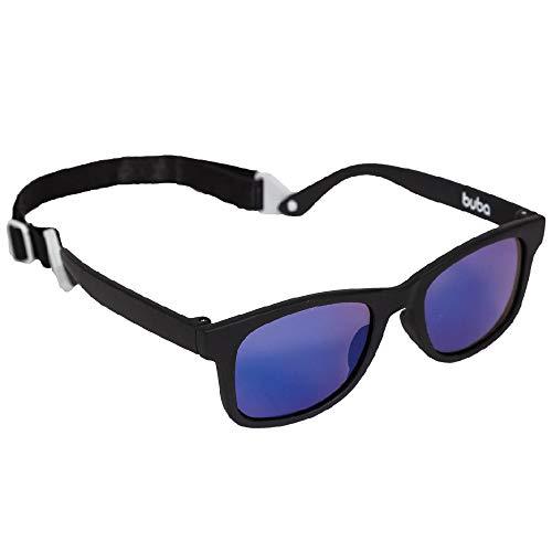 Óculos De Sol Baby - Alca Ajustável Preto, Buba, Preto