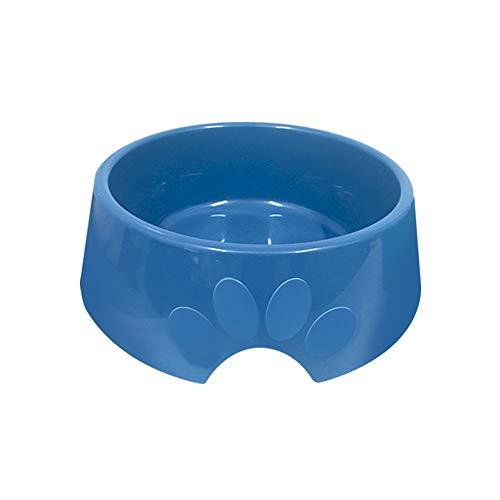 Comedouro Plástica Pop Furacão Pet N.2, 600ml Azul Furacão Pet para Cães