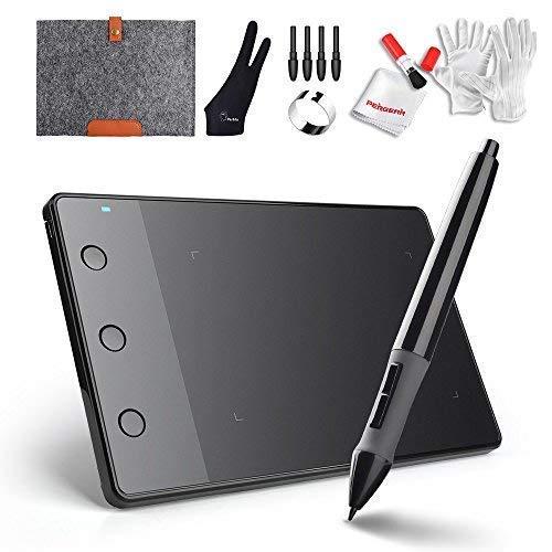 Huion H420 Kit de Tablet de Desenho Gráfico USB