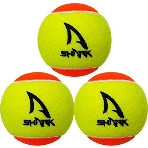 Shark Bola de Beach Tennis, 3 unidades, Amarelo