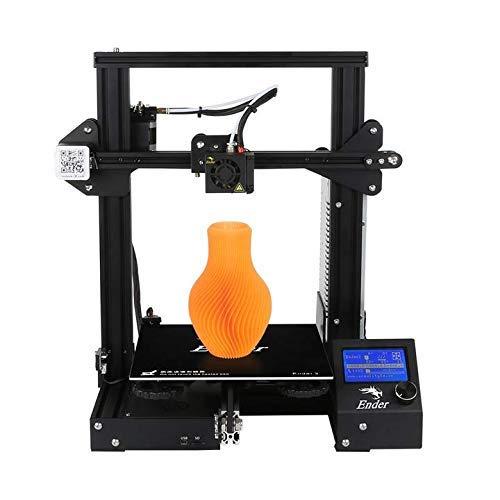 Impressora 3D Creality Ender -3 Black 110v/220v Impressão Fdm