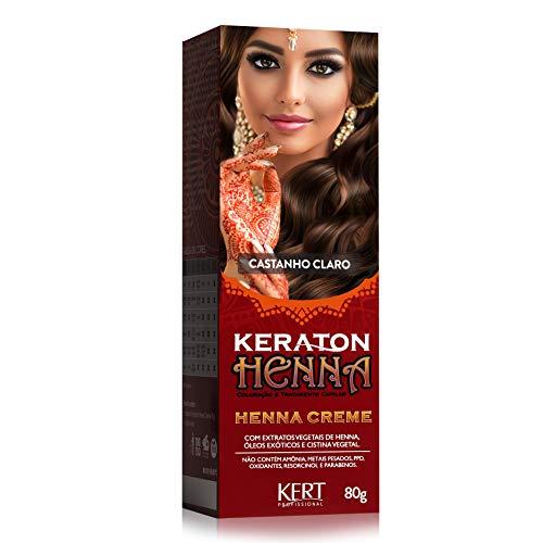 Henna Crème, Keraton, Castanho Claro