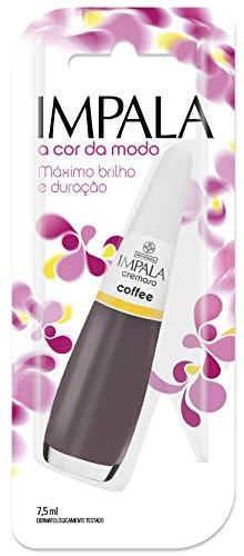 Esmalte Coffee, Impala Cosmeticos, Marrom