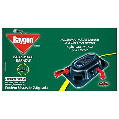 Iscas Mata Baratas Baygon 6 unidades de 2,6g cada