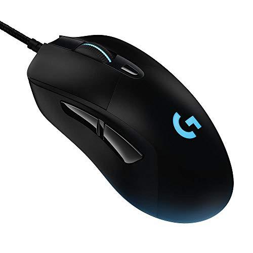 Mouse Gamer Logitech G403 HERO com RGB LIGHTSYNC, 6 Botões Programáveis, Ajuste de Peso e Sensor HERO 25K