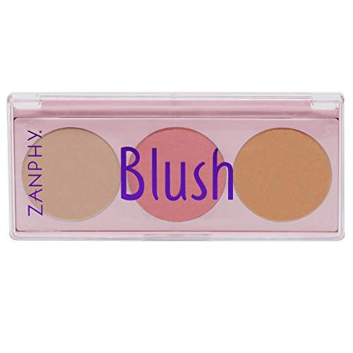 Paleta De Blush - Cor Pblu01, Zanphy