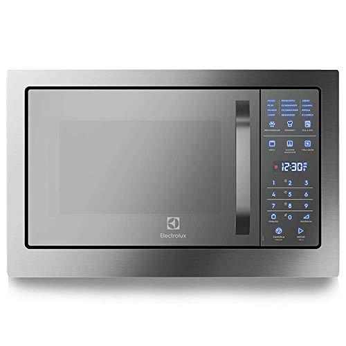 Micro-Ondas de Embutir Electrolux com Função Grill e Painel Blue Touch, com Frontal Espelhado (MB38T) 127V