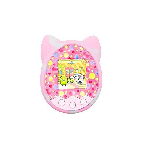 Carrfan Capa protetora Shell Silicone Case Pet Game Machine Cover for Tamagotchi Cartoon Electronic Pet Game Machine