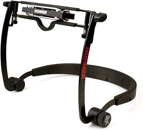 Suporte para Harmônica Hohner Flex rack MZ2010 Segurador de pescoço para Gaita de boca
