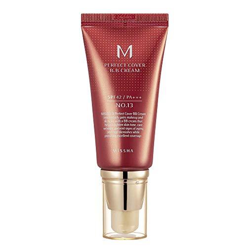 M Perfect Cover Bb Cream, Missha, Bright Beige, 50Ml