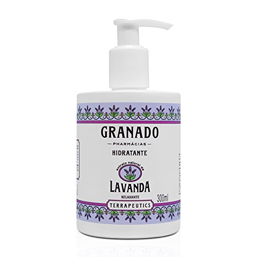 Hidratante Corporal Terrapeutics Lavanda, Granado, Lilás, 300Ml