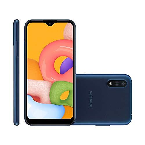 Smartphone Samsung Galaxy A01 32GB Tela 5.7