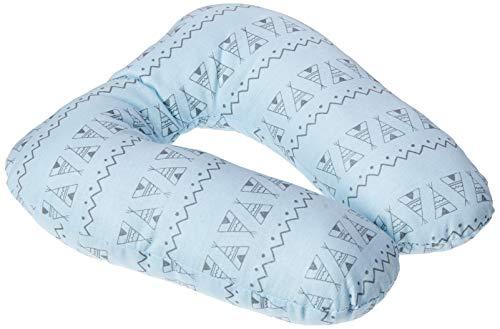 Almofada De Pescoço Papi Baby 25Cm X 24Cm 01 Un, Papi Textil, Azul