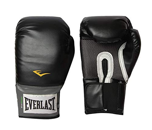 Everlast Luvas de treinamento estilo profissional (preto, 473 ml)