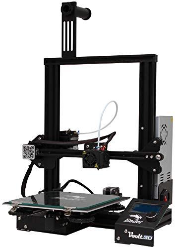 Impressora Creality 3D Ender-3 100V/220V Placa 32 Bits Buchas em Latão + 1 KG de Filamento PLA