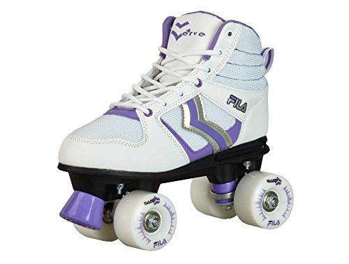 Patins Quad Fila Verve Lady Feminino Fila Skates mulheres BRANCO 36