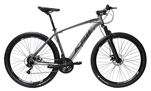Bicicleta Aro 29 Ksw Aluminio Cambios Shimano 21v Freio À Disco (Grafite, 19)