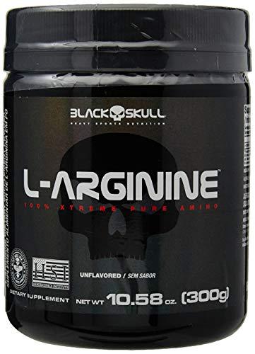 L-Arginine - 300G sem Sabor - Black Skull, Black Skull