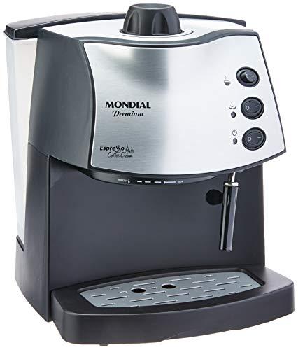 Máquina de Café Mondial, Espresso Coffee Cream Premium, 127V, Preto, 800W - C-08