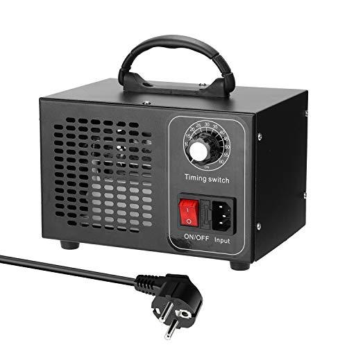 Purificador de ar, Tomshin Purificador de filtro de ar de gerador de máquina portátil de ozônio com interruptor de sincronismo Ozonizador Ozonizador para formaldeído de carro doméstico