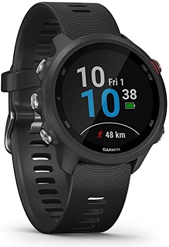 Monitor Cardíaco de Pulso com GPS Garmin Forerunner 245 Music Preto e Vermelho EU