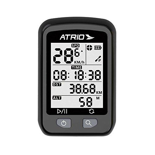 GPS Atrio Iron para Ciclismo Resistente à Água Recarregável Preto - BI091