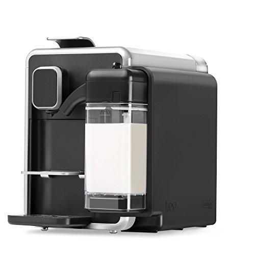 Máquina de Café Expresso e Bebidas Quentes com Leite 220V, Três BARISTA S22, Prata