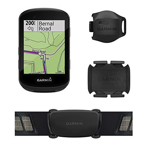Ciclocomputador GPS Garmin Edge 530 Bundle com Mapeamento de Informações, Monitor Cardíaco, Sensor de Velocidade e Cadência