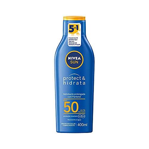 Protetor Solar Nivea Sun Protect & Hidrata Fps50 400Ml, Nivea