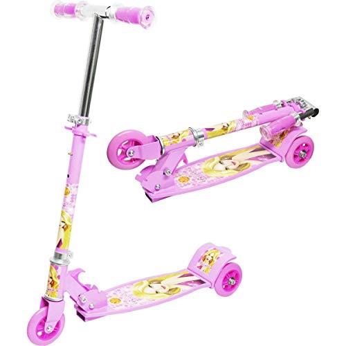 Patinete Radical Top 03 Rodas Rosa Dm Toys Multicor