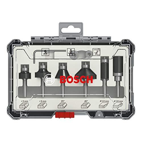Jogo de fresas Bosch Standard encaixe de 6mm