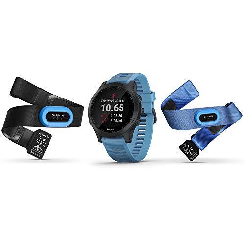 Relógio Garmin Forerunner 945 Music GPS Corrida/Triatlo Bundle