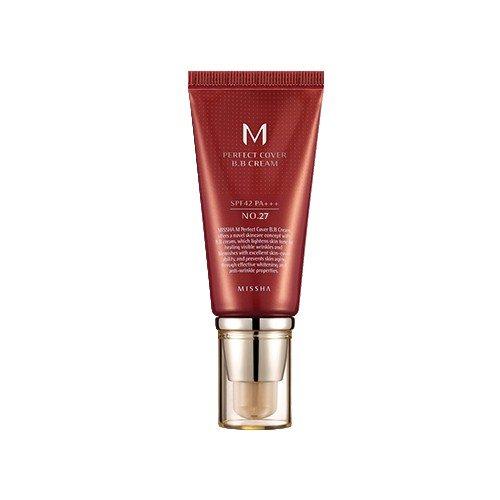 Base Facial Missha Perfect Cover BB Cream SPF 42 27 Honey Beige