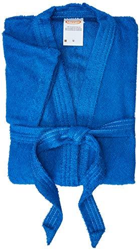 Roupão Confetti Lepper Confetti Azul Pequeno Algodão Tradicional