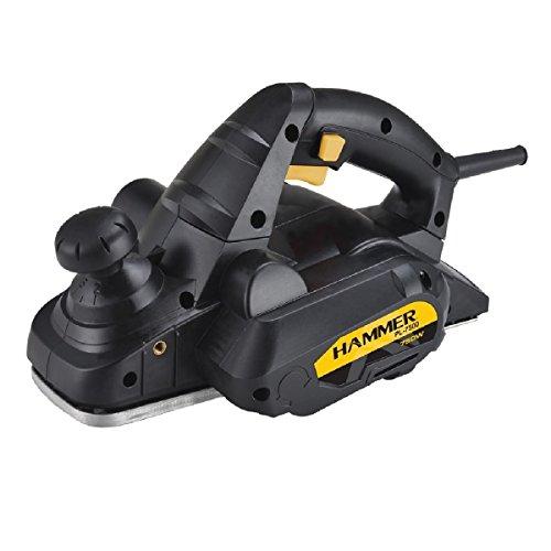 Plaina Elétrica 750w 100% Rolamentada Hammer 127v PL7500
