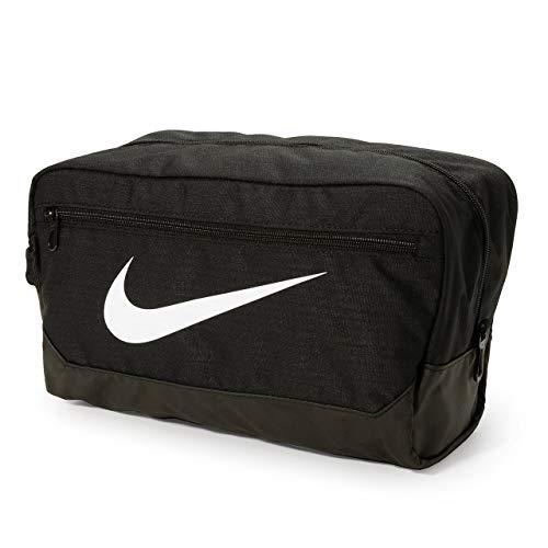 Nike Nike Brasilia bolsa para sapatos – 9.0, preto/preto/branco, Diversos