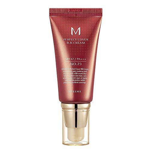 Base Facial Missha Perfect Cover BB Cream SPF 42 23 Natural Beige