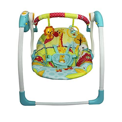 Cadeira Automática com Timer Girafa, Mastela, Verde, Médio