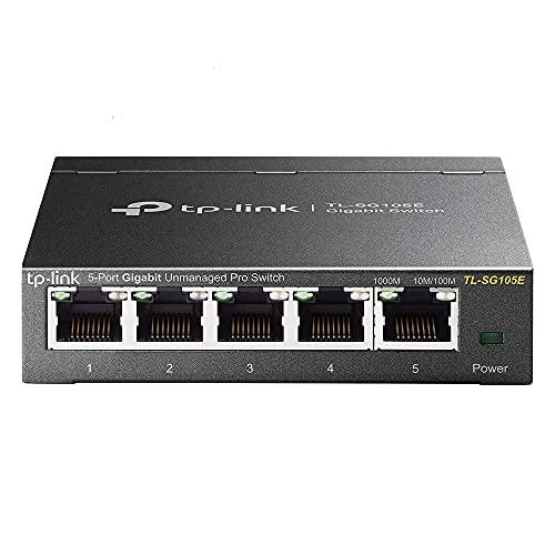 Tp-Link Hub Switch 05P Tl-Sg105E Switch Easy Smart Gigabit