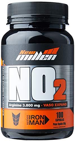 No2 Vaso Expand Arginina, New Millen, Pote 100 Capsulas